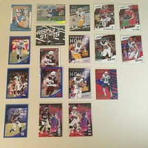 2018 Panini Prestige/Donruss/Absolute Football Card Lot Parallel, Rookie... - $15.50