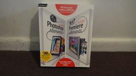 Adobe Photoshop Elements 3.0 AND Adobe Premiere Elements. Same Box, Nice... - $27.98