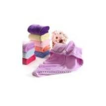 Hair Towel Wrap Turban, Fast Dry Microfiber Twist for Wet Hair (2 pks) (Random c