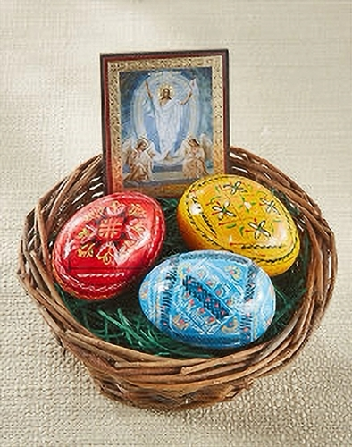 Easter egg basket k40
