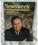 Newsweek October 17 1966 Yugoslsvias Tito Radical Communist Vintage Magazine - $9.69