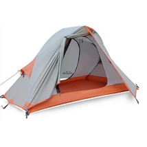 Double Layer Waterproof Travel Tent 2 Person For Camping Hiking Quick To Build - $154.93