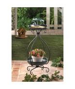 Bird Feeder Plant Stand Garden Yard Home Decor - $40.58