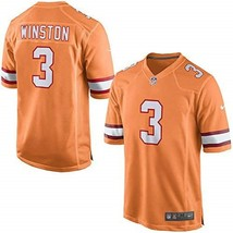 Nike NFL Tampa Bay Buccaneers Youth L On-Field #3 Jameis Winston Jersey ... - $48.59
