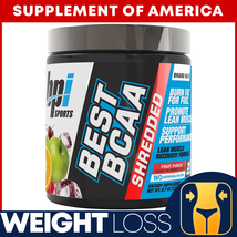 "Best BCAA Shredded WEIGHT LOSS RECOVERY Fruit Punch Flavor ""FREE SHIPPING"" - $22.75"