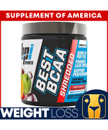 """Best BCAA Shredded WEIGHT LOSS RECOVERY Fruit Punch Flavor """"FREE SHIPPING"""" - $22.75"""