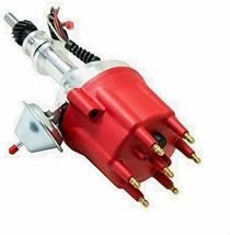 Pro Series R2R Distributor for Ford 144 170 200 250, 5/16 Hex Shaft Red Cap image 9