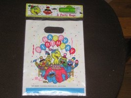 Sesame Street Happy Birthday Party Bags 8 Count - $6.88
