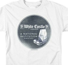 White Castle T-shirt A National Institution 1921 retro graphic tee WHT133 image 2