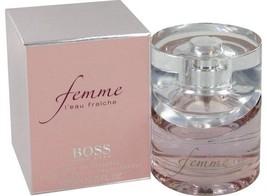 Hugo Boss Femme L'eau Fraiche Perfume 1.6 Oz Eau De Toilette Spray  image 3