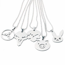 Sterling Silver Overwatch Necklace Pendant for Video Gamer PC Gaming Gee... - $42.00