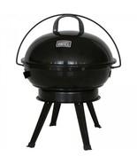 "Portable Charcoal Barbecue Grill Camping Patio Backyard Compact 14.5"" Ke... - $34.32"