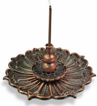 3-in-1 Brass Lotus Stick Incense Burner and Cone Incense Holder Ash Catcher - $23.93