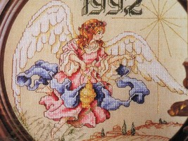 Renaissance Angel Christmas Cross Stitch Pattern Chart ONLY from craft m... - $1.50