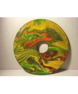 """7"""" Vinyl Music Record Wall Art - Fluid Acrylic Flowing Poured Paint 001 - $14.20"""