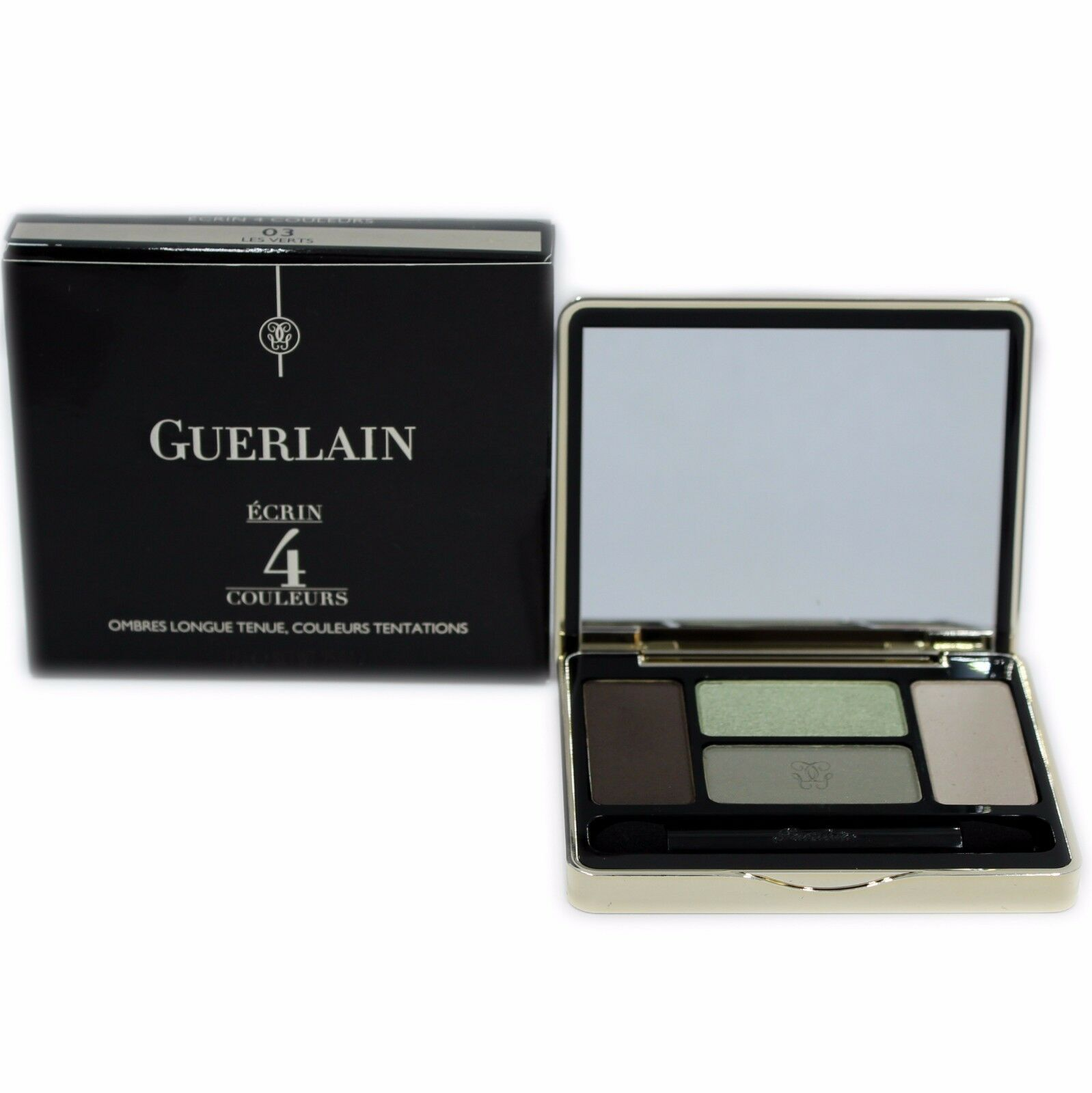 Primary image for GUERLAIN ECRIN 4 COULEURS LONG-LASTING EYESHADOWS 7.2G #03 LES VERTS-G41147
