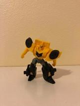 Fast Food Toy McDonald's Transformers Bumblebee Hasbro 2016 - $0.98