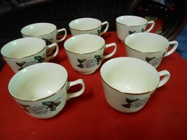 "Beautiful HOMER LAUGHLIN Dinnerware ""Gardenia"" .8 CUPS...NO Saucers - $13.57"