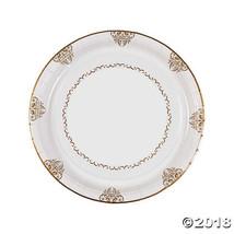Romantic Wedding Paper Dinner Plates - $12.49