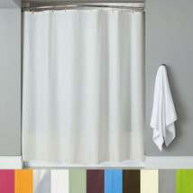 """PEVA Shower Curtain/Liner w/Magnets Solid Color 70"""" x 72"""" - $9.79"""