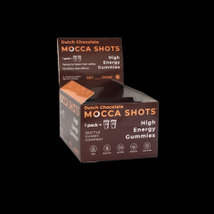 Mocca Shots High Energy Dutch Chocolate Caffeine Gummy - $36.00