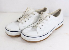 Vintage 90s Keds Womens 11 Champion Walker Lace Up Walking Shoes White - $45.49