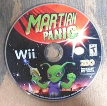 (solo Disco) Martian Panic (Nintendo Wii, 2010) - $3.10