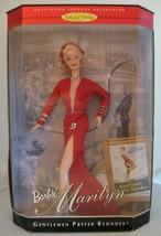 Barbie Marilyn Monroe Gentlemen Prefer Blondes Red Dress 1997 Collector Ed NRFB - $62.99