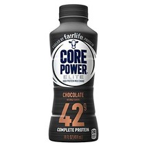 Core Power by fairlife Elite High Protein 42g Milk Shake, 14 fl oz bottles, Pack