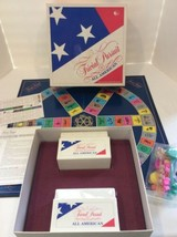 Trivial Pursuit All American Edition General Knowledge Board Game Comple... - $12.00