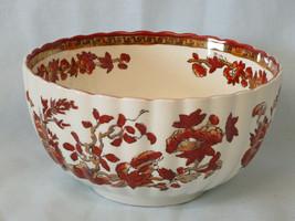 Spode India Tree Orange Rust Cranberry Bowl - $119.68