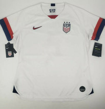 Nike 2019 Mallory Pugh USA Home Women's World Cup Jersey White sz XS CJ7... - $35.39