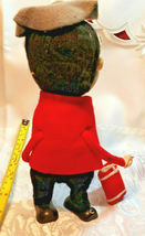"Vintage Stockinette Doll Christmas Drummer Made in Japan by Noel 10"" image 3"