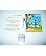 New Super Mario Bros. Nintendo DS Game Cartridge & Instruction Booklets - $12.75