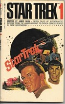 Star Trek 1 Paperback Book James Blish Bantam 1978 VERY FINE - $4.50