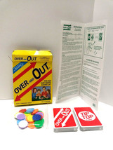 Over and Out Card Game Jax Family Fun Learn Adding & Subtracting 2002 Ne... - $10.48