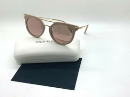 New Calvin Klein Sunglasses CK1232S 608 Cosmetic Pink 52-19-140MM Case - $43.62