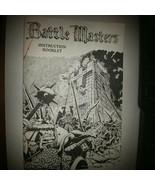 Battle Masters Board Game Instrution Booklet - $21.60