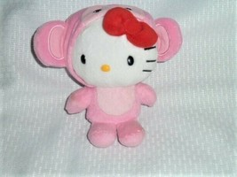 "Sanrio Hello Kitty Dress as Pink Mouse Plush Stuffed Doll Soft Toy 6"" - $24.74"