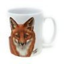 4 x Design Christine Varley Red Fox Made in UK Qualità Tazza di Ceramica... - $37.01