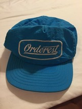 Orderest Trucker Blue Hat Vintage Made In USA SnapBack Cap - $8.94