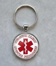 Cystic Fibrosis Medical Alert Keychain - $14.00+