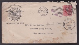 Fidelity And Guaranty Company Baltimore Md June 13 1913 - $1.98