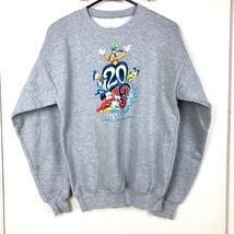 Walt Disney World 2013 Youth Unisex Boys Girls Gray Crewneck Sweatshirt XL - $14.99