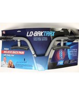 Lo-Bak Trax Portable Spinal Stetcher Portable Traction Device W/DVD Fast... - $27.29