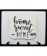 """Wall Mounted Keychain Holder Rack with saying - """"Home Sweet HOME""""  - $18.95"""