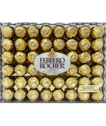 Ferrero Rocher Fine Hazelnut Chocolates Gift Box 21.2 oz, 600g - 48 Count - $19.99