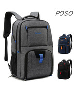 "POSO® Backpack Laptop 17"",17.1"",17.3"" Case Notebook Nylon Bag Travel Sch... - $74.00"