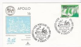 APOLLO 16 MONCALVO, ITALY APRIL 23, 1972 KIMCOVER - $2.68
