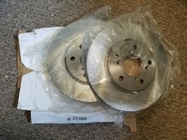 Pair Disc Brake Rotor Front 31368 05-10 Honda Odyssey